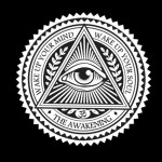 The Awakening All seeing Eye Sticker