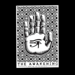 The Awakening Hand Sticker